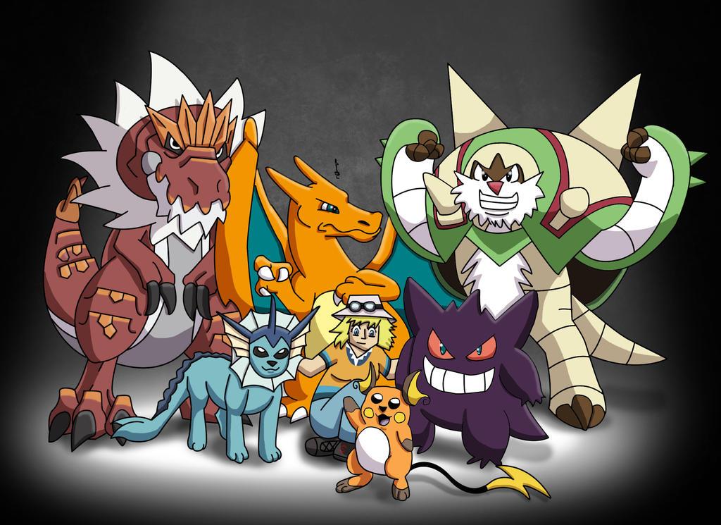 My Pokemon X Team by M...