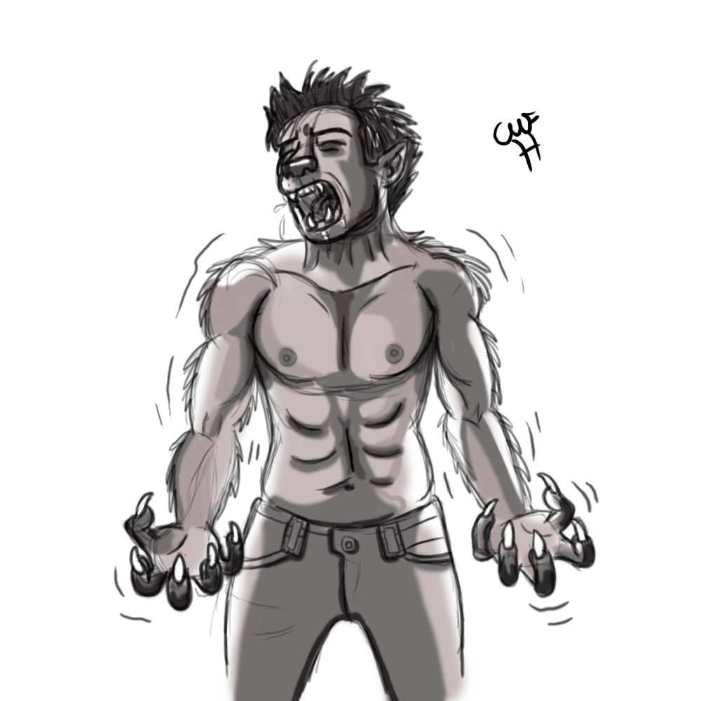 Wolf Transformation Sequence Werewolf Transf...
