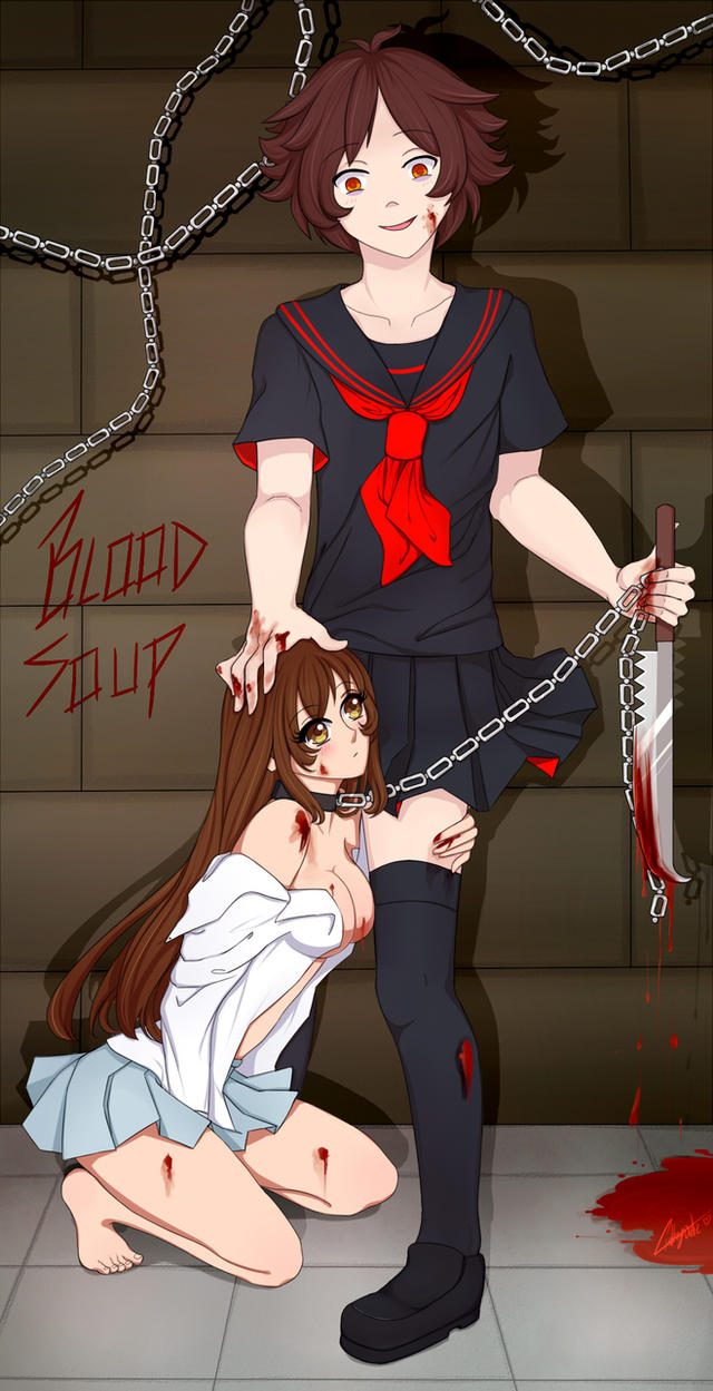 Blood Soup Esclava De Amor - Seifuku Version by ChrisCin