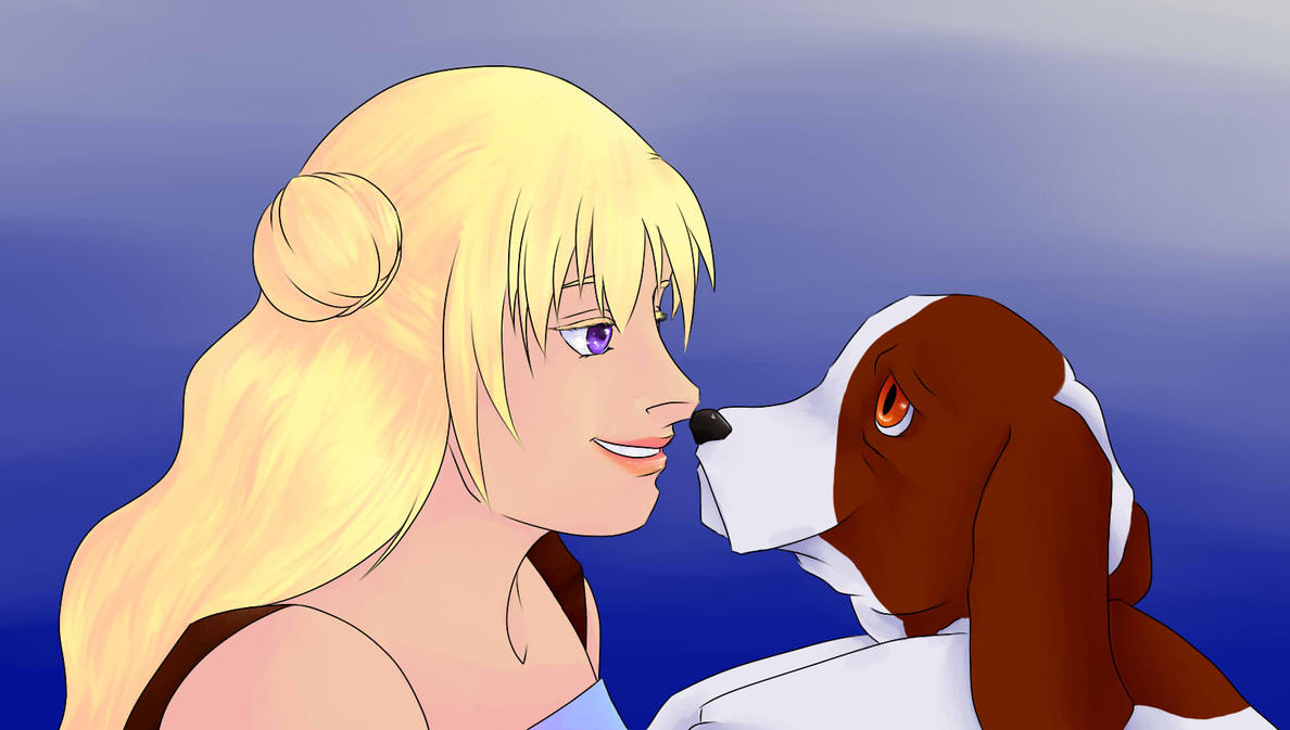 Elian and Luk by blubunn
