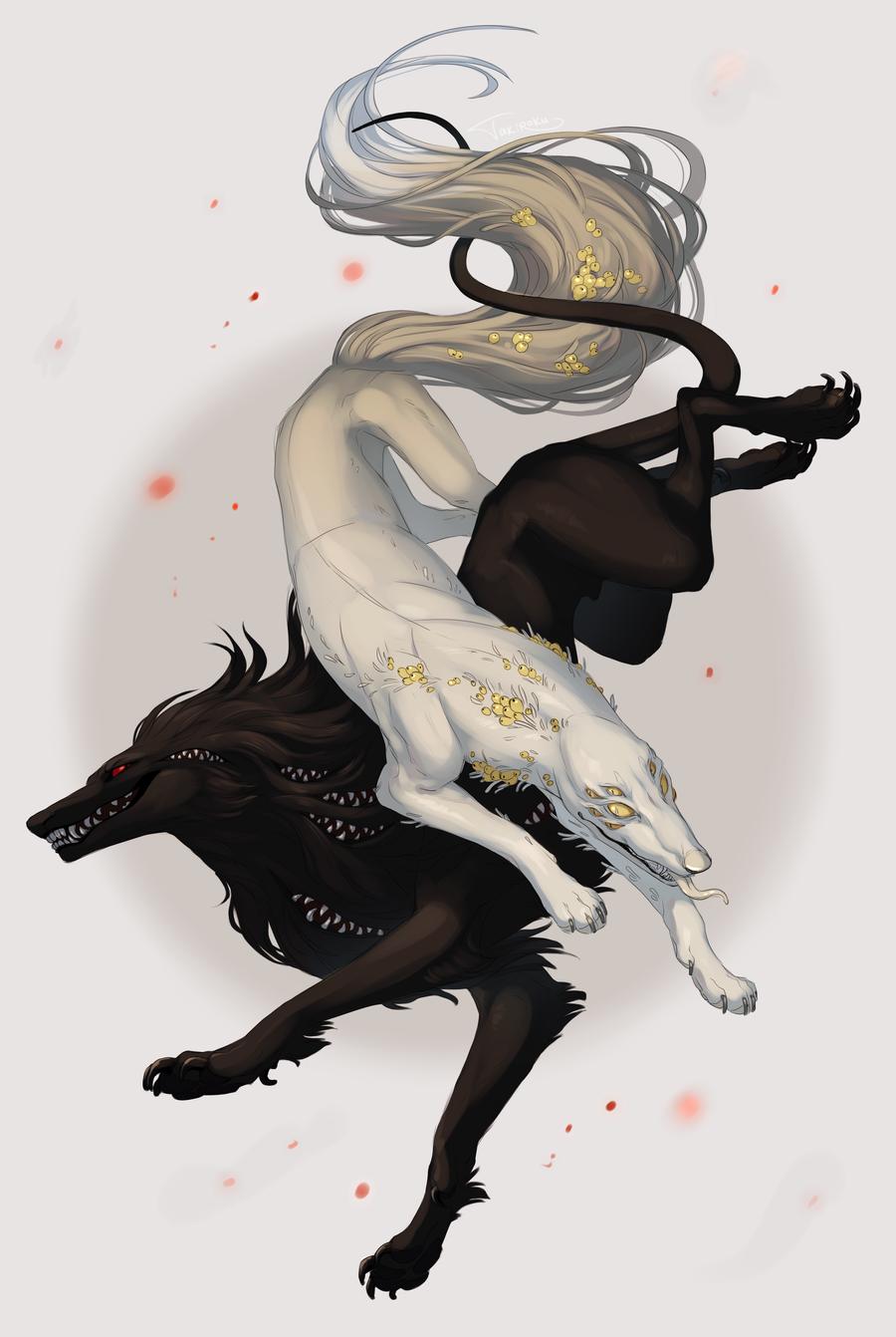 Mofrus and Dalar by Takiroku