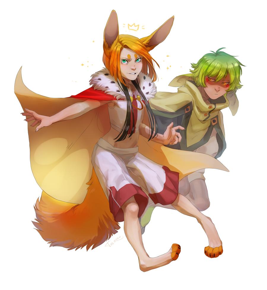 Fandy and Troen by Takiroku