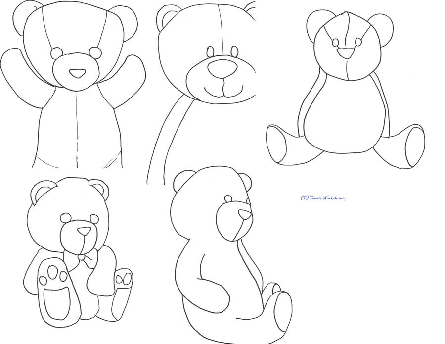 Teddy Bears With Roses Drawings Teddy Bears by Bleeding Roses