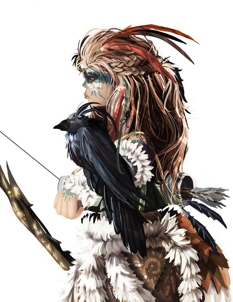 The Huntress by Kosumonauto