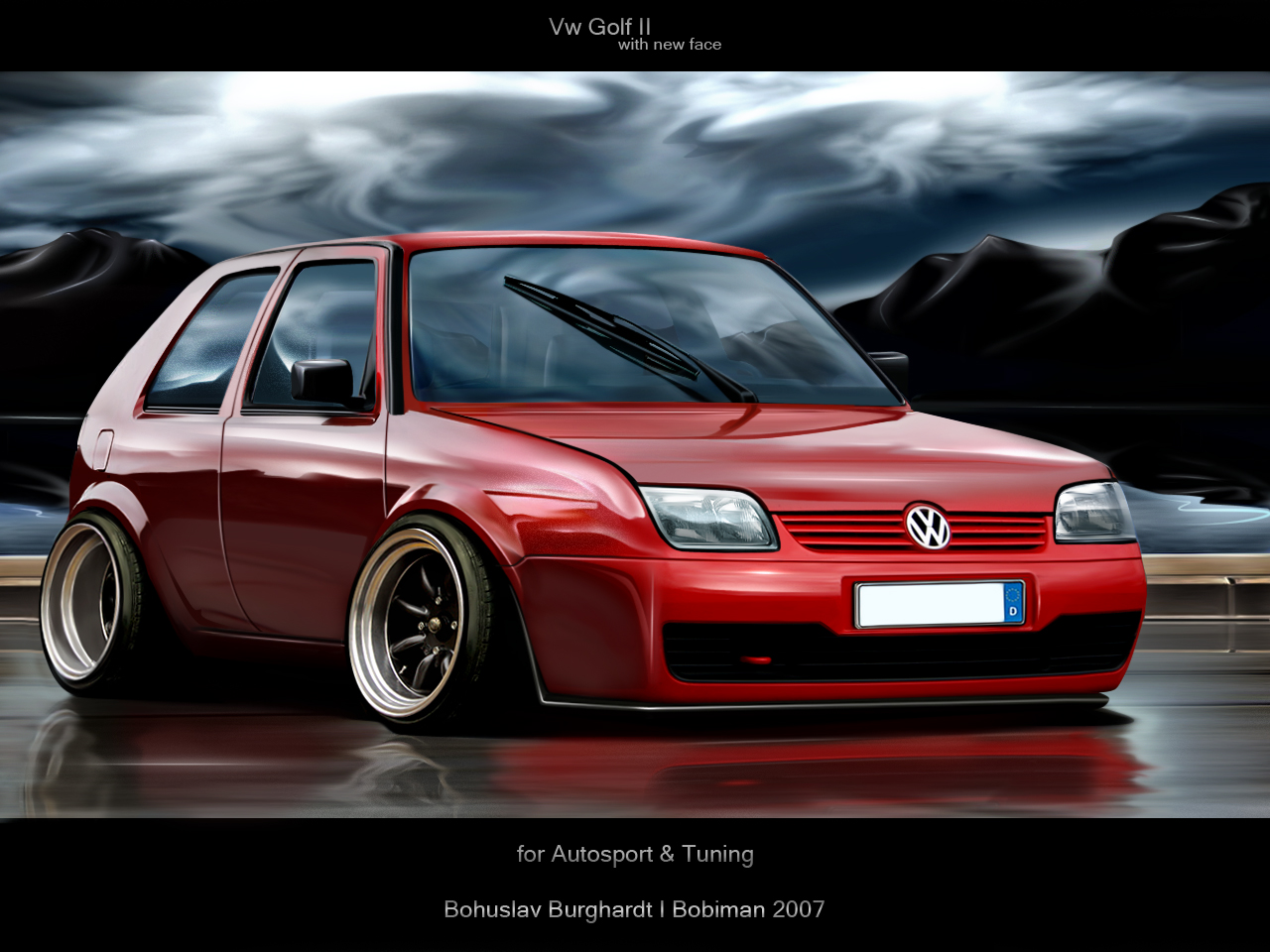 vw golf ii by bobiman on deviantart. Black Bedroom Furniture Sets. Home Design Ideas
