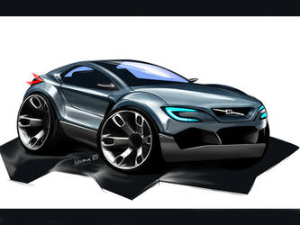 Volvo Sport SUV concept by Bobiman