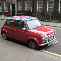 British Mini by Oeree