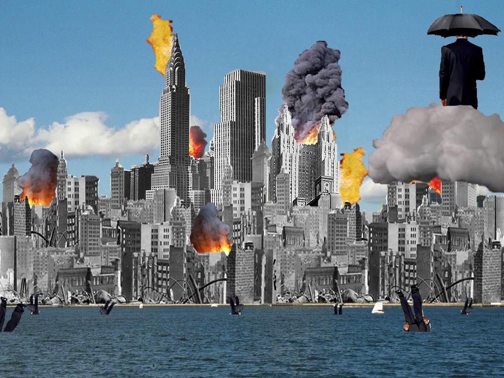 Burning Buildings by Oeree on DeviantArt