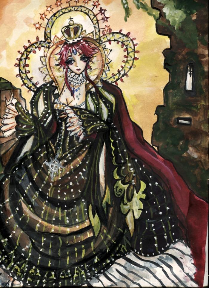 Esther Blanchett. Trinity Blood. Art. by Lyumos