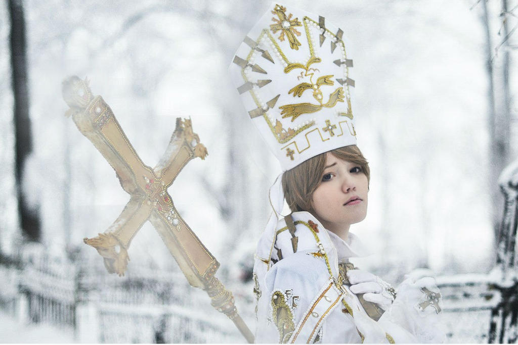 Trinity Blood. Alessandro XVIII by Lyumos