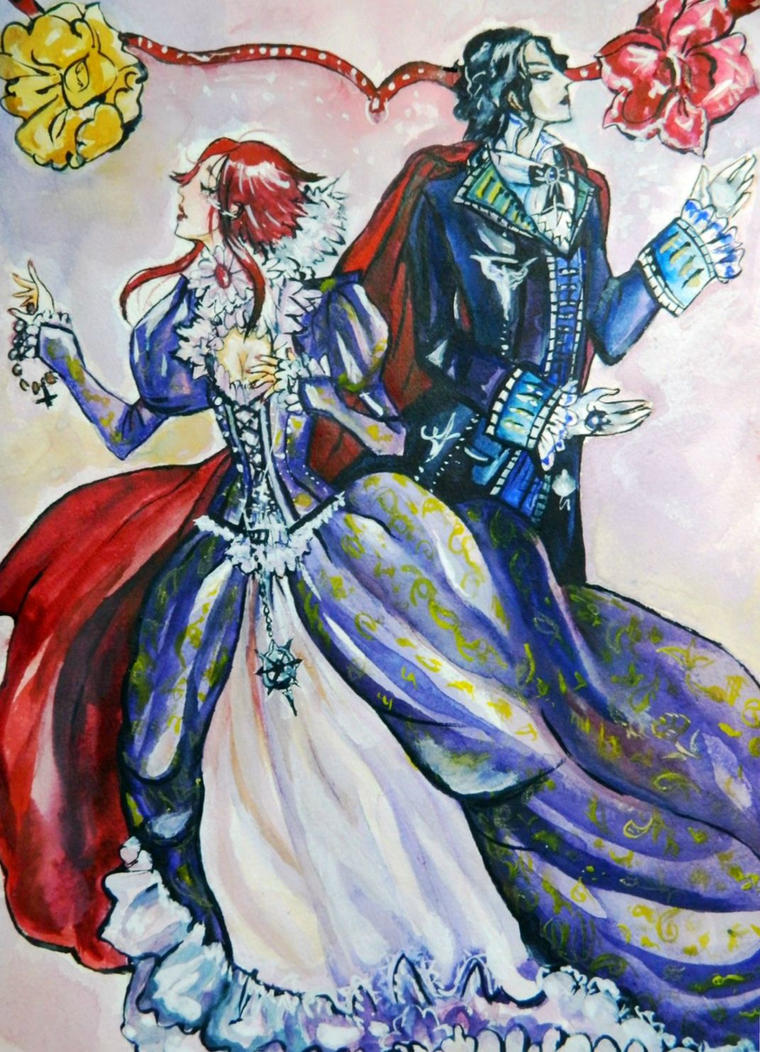 The Star of Sorrow. Trinity Blood. by Lyumos
