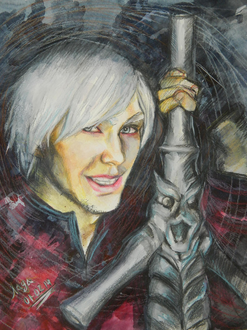 Devil May Cry. Dante (Okari Dane Portrait) by Lyumos