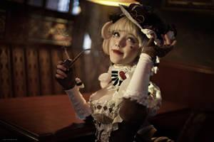 Sakizo. Gateau. Chocolate lady by Lyumos