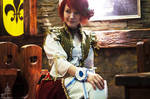 Witcher cosplay. Shani. Herts of stone.
