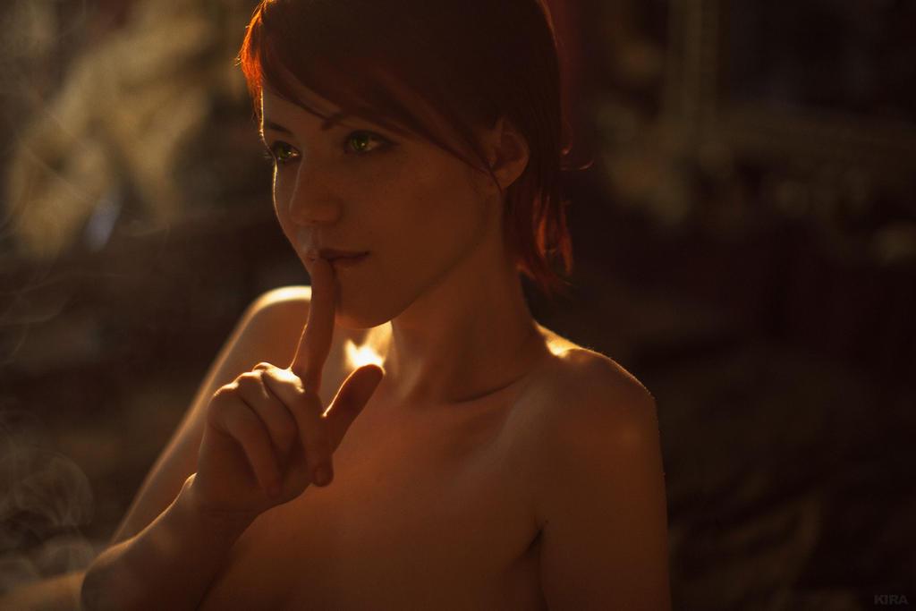 It's a secret. Shani. Witcher cosplay. by Lyumos