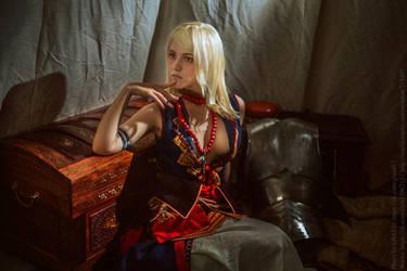 Keira Metz / COSPLAY WITCHER WILD HUNT by Lyumos