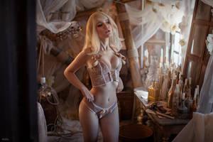 Witcher  3 Keira Metz by Lyumos