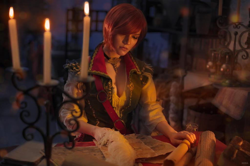 Shani Witcher cosplay by Lyumos