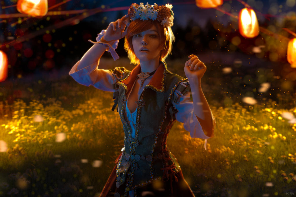 Shani Witcher3 cosplay Wedding day