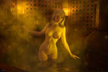 Keira Metz nude. Witcher 3. (8 frame) by Lyumos
