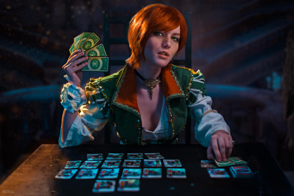 Will we play gwent shani witcher cosplay by lyumos on - Ciri gwent card witcher 3 ...