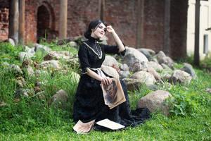 Witcher 3  cosplay. Iris von everec  (frame 2)