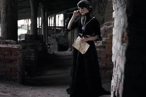 Witcher 3  cosplay. Iris von everec  (frame 15) by Lyumos