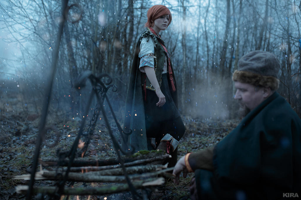 The Witcher 3 Shani cosplay (frame 8) by Lyumos