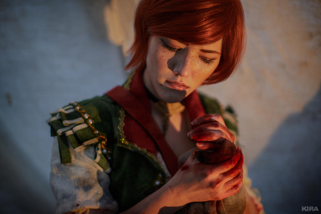 The Witcher 3 Shani cosplay (frame 25) by Lyumos