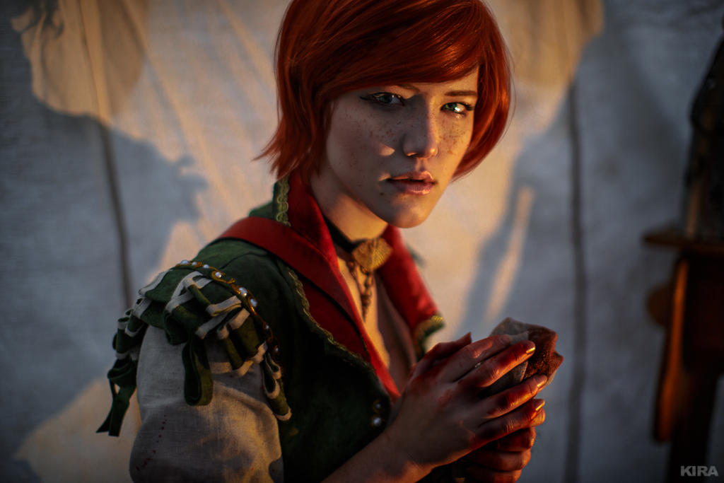 The Witcher 3 Shani cosplay (frame 24) by Lyumos