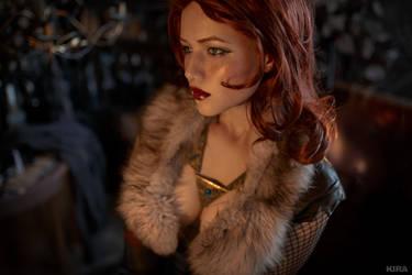 Triss Merigild Witcher (22) by Lyumos
