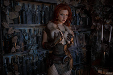 Triss Merigild Witcher (23) by Lyumos