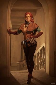 Triss Merigold cosplay frame 2