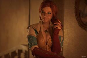 Triss Merigold cosplay frame 5