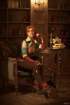 Triss Merigold cosplay frame 7