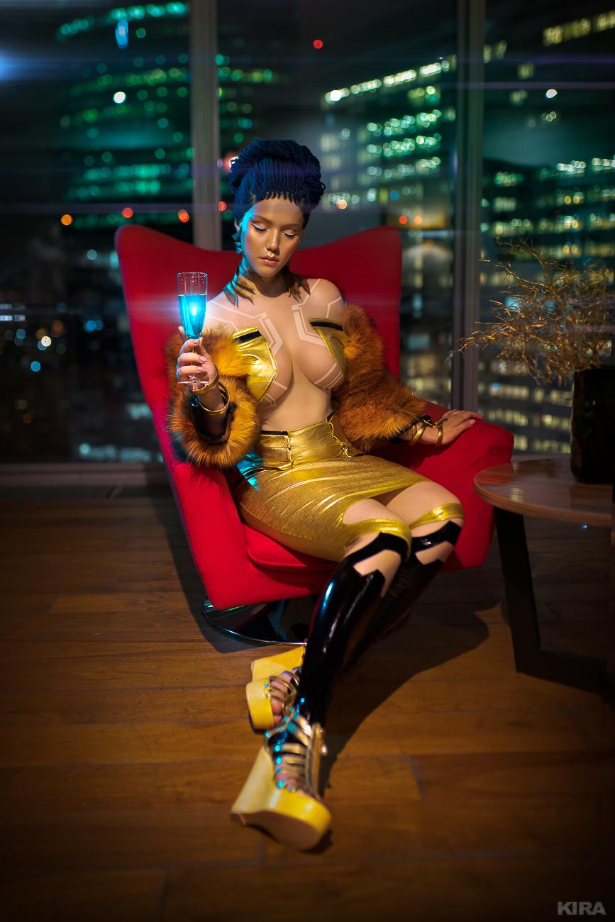 Cyberpunk 2077 cosplay