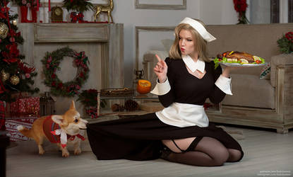 Thanksgiving pilgrim girl