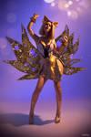 Prestige K/DA Ahri cosplay by Lada Lyumos