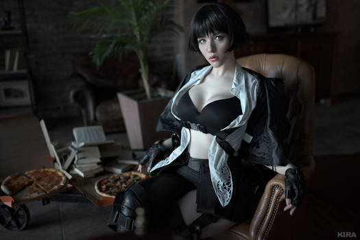 Devil may cry - Lady cosplay