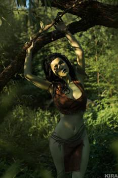 Dryad Morenn from Witcher 1