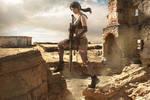 Metal Gear Solid Quiet cosplay