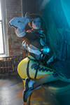Tracer   Overwatch cosplay    by Lada Lyumos