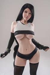 Tifa Lockhart   Final Fantasy 7 cosplay   by Lada