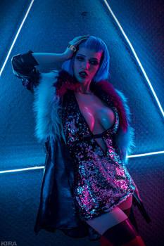 Evelyn Parker Cyberpunk 2077 by Lada Lyumos