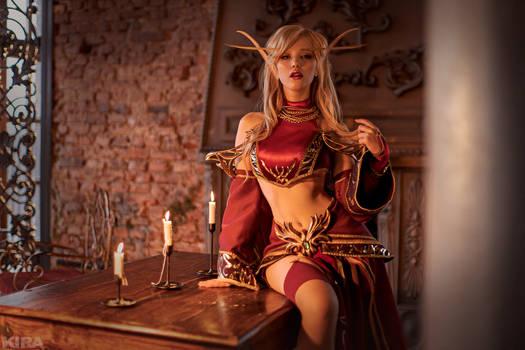 Blood elf by Lada Lyumos