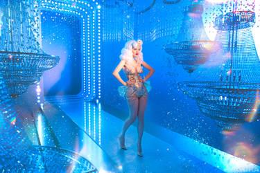 Burlesque Diva by Lada Lyumos