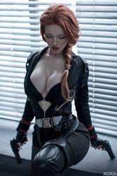 Natasha Romanoff by Lada Lyumos