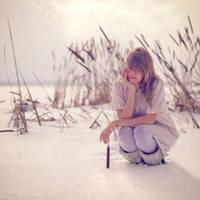 Me as a model - snowie cutie by duskOFsummer