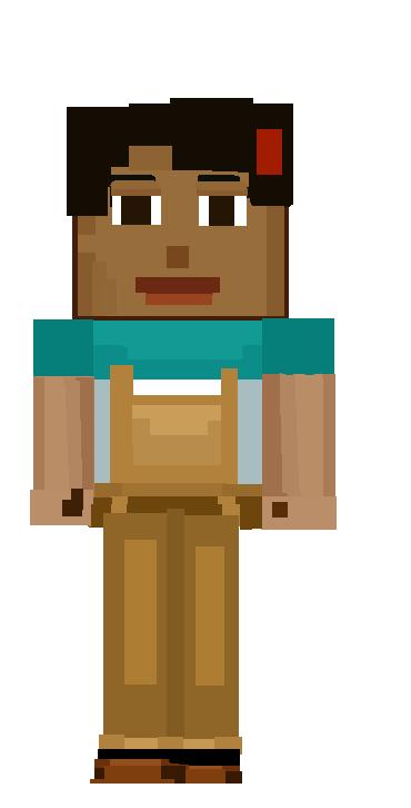 Minecraft Story Mode Female Jesse Fan Art By Alp74 On Deviantart