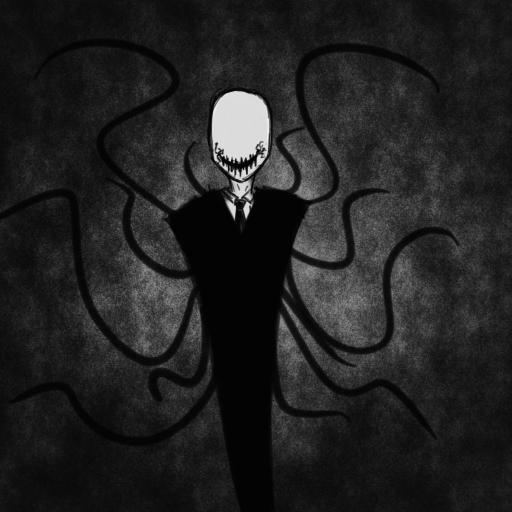 Slendy doodle by BlueRaveMod